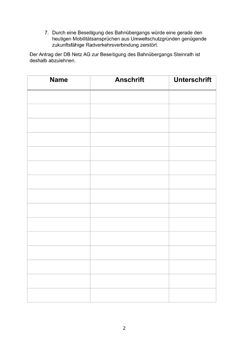 Unterschriften Anhang Muster Zum Download